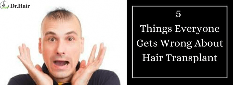 5 Things Everyone Gets Wrong About Hair Transplant